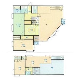 岐阜市岩滝西 中古住宅 店舗併用住宅 お車スペース10台可能! 小学校近いです