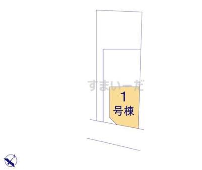 【区画図】クレイドルガーデン倉敷市児島小川第3 1号棟