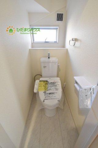 【トイレ】西区中釘 新築一戸建て リーブルガーデン 11