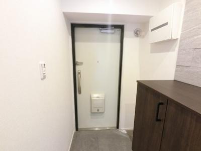 玄関部分です。 シューズボックス付です。