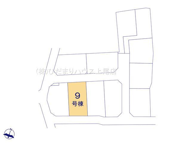 【区画図】西区中釘 新築一戸建て リーブルガーデン 09