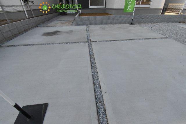 【駐車場】西区中釘 新築一戸建て リーブルガーデン 09
