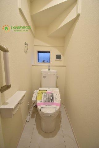 【トイレ】伊奈町栄5丁目 2期 新築一戸建て ブルーミングガーデン 01