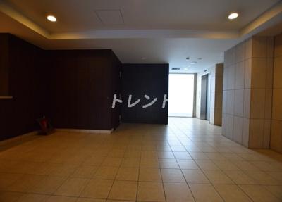 【ロビー】パシフィックレジデンス芝一丁目