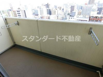 【バルコニー】シャルマンフジ天神橋