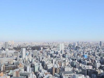 都心部の景色を一望できる素晴らしいロケーションです。