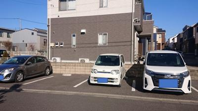 【駐車場】コート・ソレイユA
