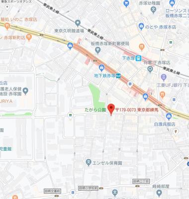 【地図】PRIMO Akatsuka