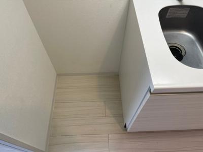 冷蔵庫置き場