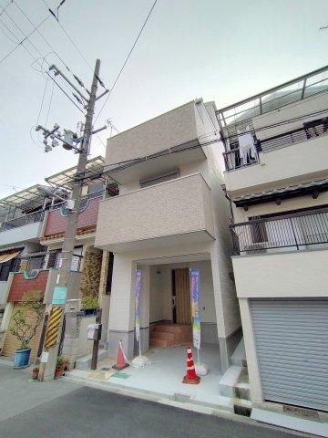 外観です。 阪神電鉄阪神なんば「伝法」駅 徒歩11分の好立地です!