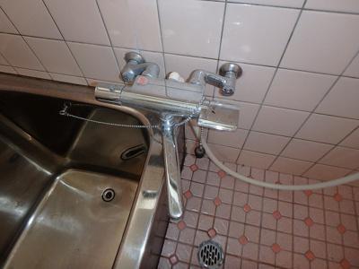 【浴室】鷹子町安永借家・