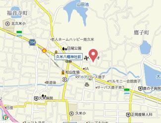 【地図】鷹子町安永借家・