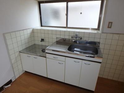 【キッチン】鷹子町安永借家・