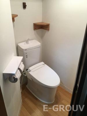 ウォシュレット機能付きトイレ