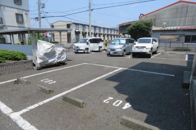 【駐車場】ビューティフル