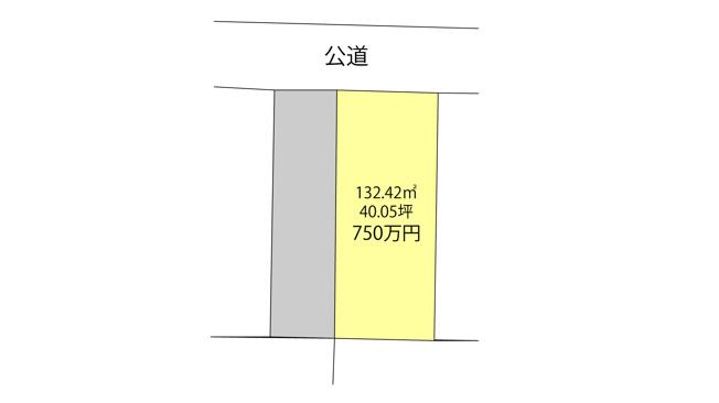 【土地図】 久留米市御井町 売地