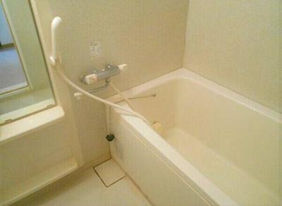 【浴室】ベルデフラッツ新大阪