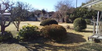 日当たり良好な広々南庭!