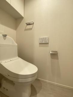 【トイレ】パークアクシス市谷左内町
