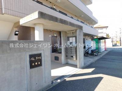 【エントランス】パレ・ドール港南台