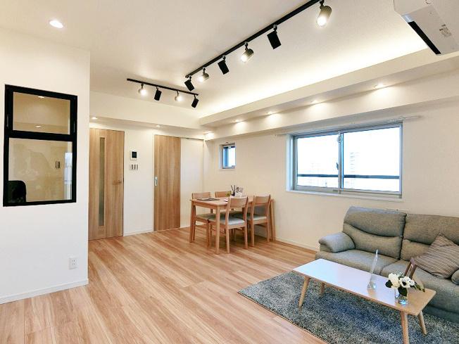新規リノベーション済みにつき快適に新生活のスタートができます 新生活に嬉しい家具付きエアコン付き販売です
