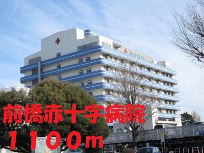 前橋赤十字病院まで1100m