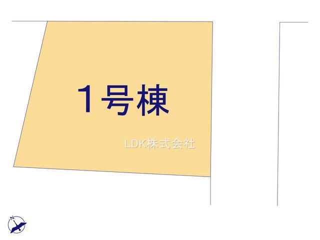 【区画図】新築戸建/富士見市諏訪2丁目(全1棟)
