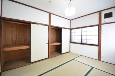 【寝室】中谷アパート