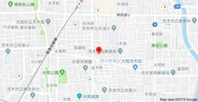【地図】プラウドシティ茨木AvenueCourt