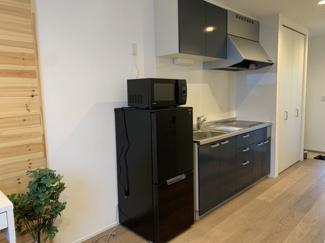 【キッチン】アパートメント栄町