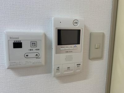 モニター付きインターホン☆