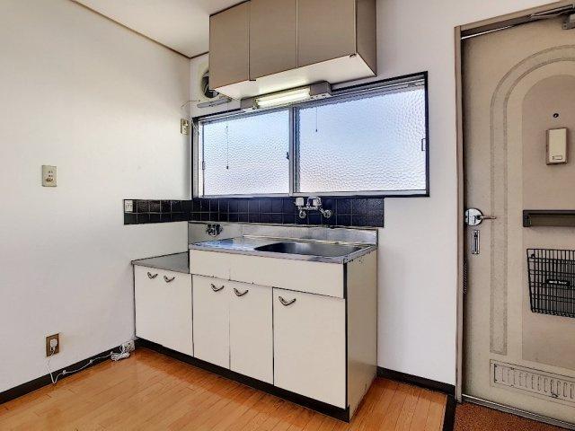 【キッチン】コーポラス瓦谷A・B