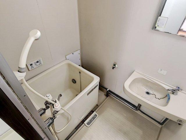 【浴室】コーポラス瓦谷A・B