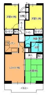 毛呂山町岩井西 中古売マンション