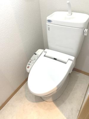 【トイレ】リシェ矢野口B棟