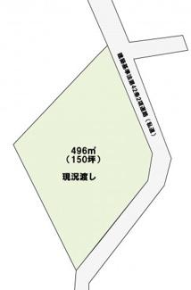 【土地図】大村市玖島2丁目 売地 150坪