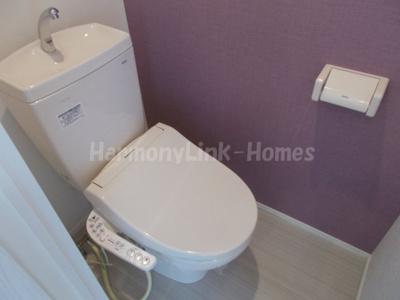 ハーモニーテラス柴又のトイレ