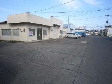 【駐車場】米子市旗ヶ崎7丁目事務所