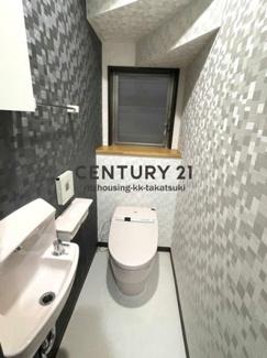 タンクレストイレ、手洗い付き!クロス張り替え済、クッションフロア張り替え済!