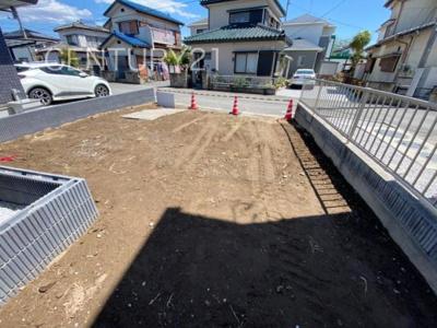 【前面道路含む現地写真】伊勢崎市田中島町土地