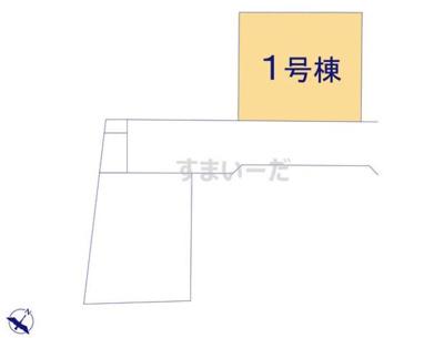 【区画図】クレイドルガーデン倉敷市玉島阿賀崎第4 1号棟