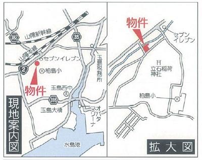 【地図】クレイドルガーデン倉敷市玉島阿賀崎第4 2号棟