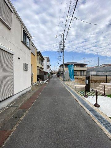 前道 幅3.9m ※令和2年2月1日撮影現地写真