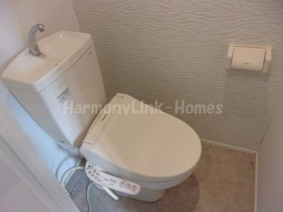 ハーモニーテラス滝野川の落ち着いたトイレです☆