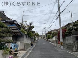 【前面道路含む現地写真】姫路市城見台2丁目/中古戸建