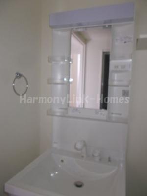 ハーモニーテラス北小岩Ⅵの独立洗面化粧台が付いています