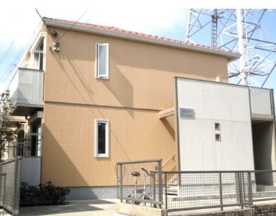 積水ハウス施工の賃貸住宅シャーメゾン♪小田急多摩線「五月台」駅より徒歩2分!コンビニやドラッグストアも近くて便利な立地の2階建てアパートです♪