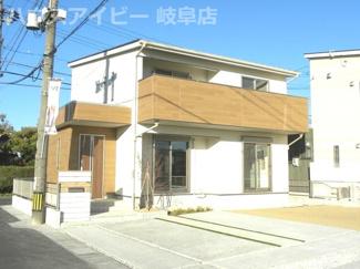 岐阜市日置江新築建売1棟 小学校まで4分!お車スペース3台可能!広いお庭スペースもあります