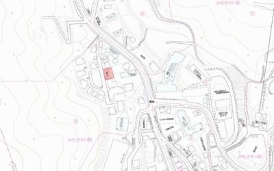 【地図】みもすそ川町A駐車場