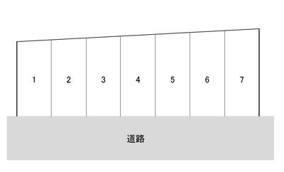 【区画図】みもすそ川町A駐車場